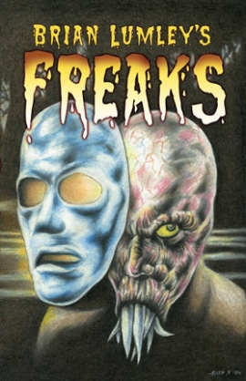 Brian Lumley&#8217;s Freaks cover