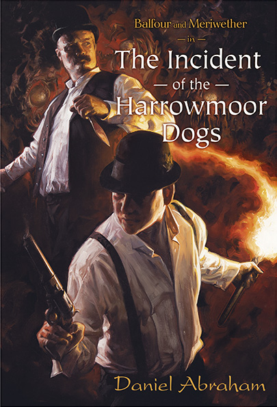 Balfour and Meriwether in the Incident of the Harrowmoor Dogs cover