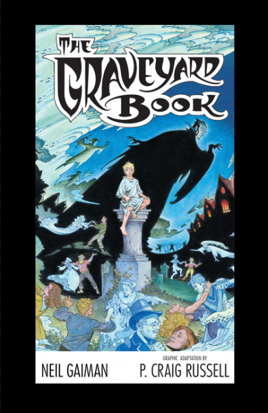 The Graveyard Book Graphic Novel Signed Limited Edition