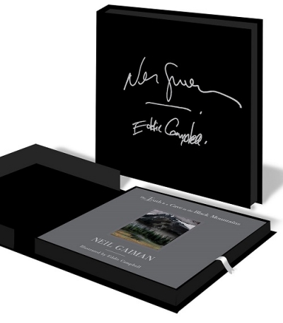The Truth is a Cave in the Black Mountains Signed Limited Edition cover