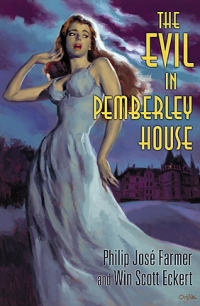 The Evil in Pemberley House cover