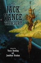 The Jack Vance Treasury cover